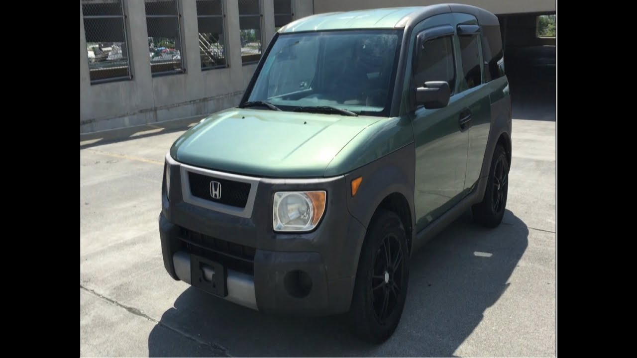 Used High Mileage Honda Element Review What To Expect Youtube