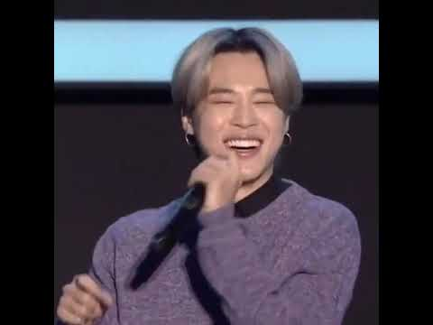 Jimin cute smile laugh | Tierno sonrisa risa BTS Bangtan | Global press conference 2020 - YouTube