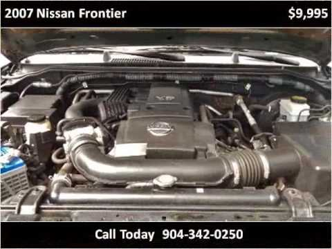 2007 Nissan Frontier Used Cars St Augustine FL