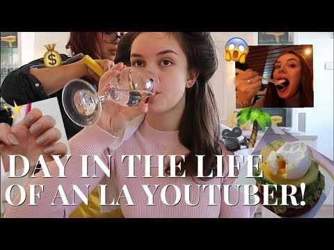 DAY IN THE LIFE OF AN LA YOUTUBER! | India Grace