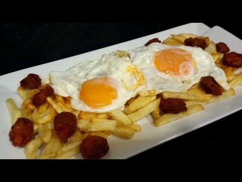 Huevos Rancheros Con Chorizo Huevos rotos co...