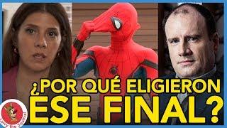 EXPLICACIÓN DEL FINAL DE SPIDER-MAN: DE REGRESO A CASA (HOMECOMING)