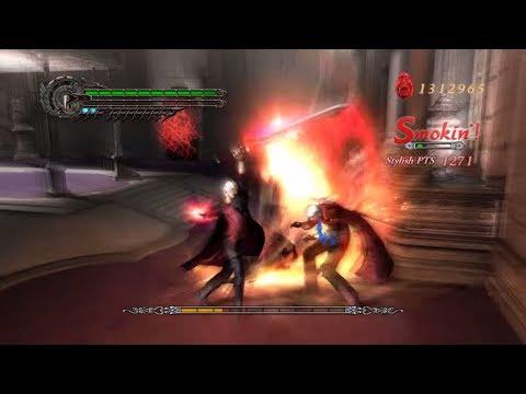 Devil May Cry 4 - Nero vs Dante - DMD Difficulty