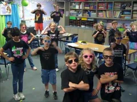 Second Grade Party Rock Anthem Wills Point, Tx