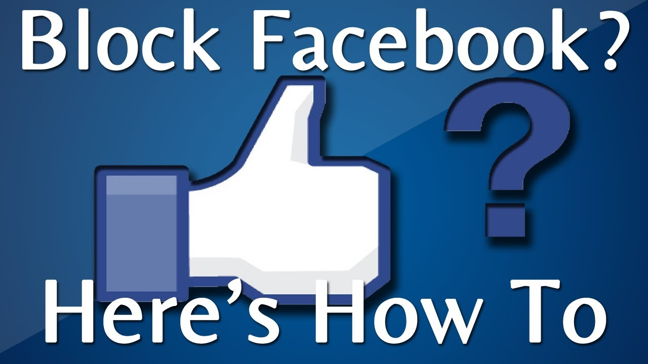 How To Block Facebook On Myputer: Google Chrome