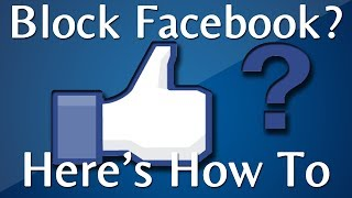 How To Block Facebook On My Computer: Google Chrome