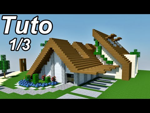 Vote no on minecraft tuto maison moderne for Maison moderne minecraft tuto
