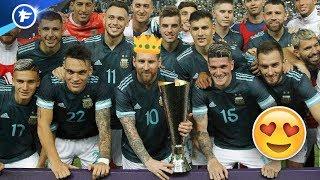 VIDEO: Le retour gagnant de Messi contre le Brésil fait grand bruit | Revue de presse