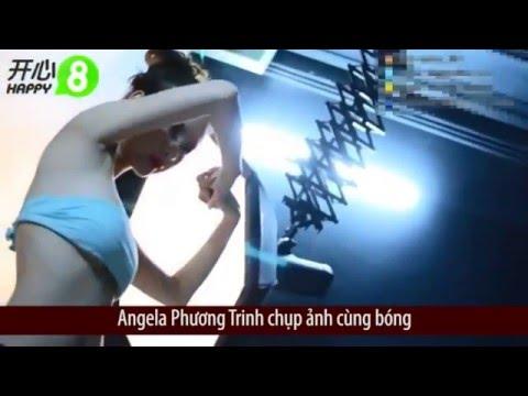 Clip- Hậu trường chụp ảnh thiếu vải-của Angela Phương Trinh