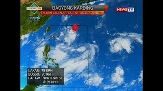 Weather update as of 9:57 a.m. (August 11, 2018)