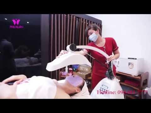 Nâng cơ xóa nhăn - Làm căng da mặt bằng Thermage thẩm mỹ viện Phú Xuân