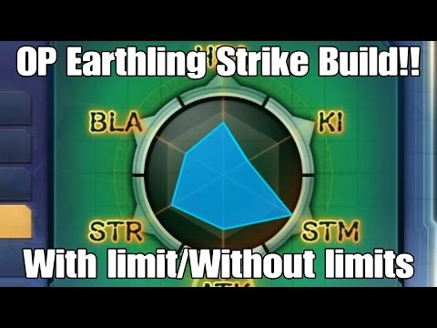 Xenoverse 2 OP lvl85 Hybrid Earthling Strike Build For With/Without Limitation