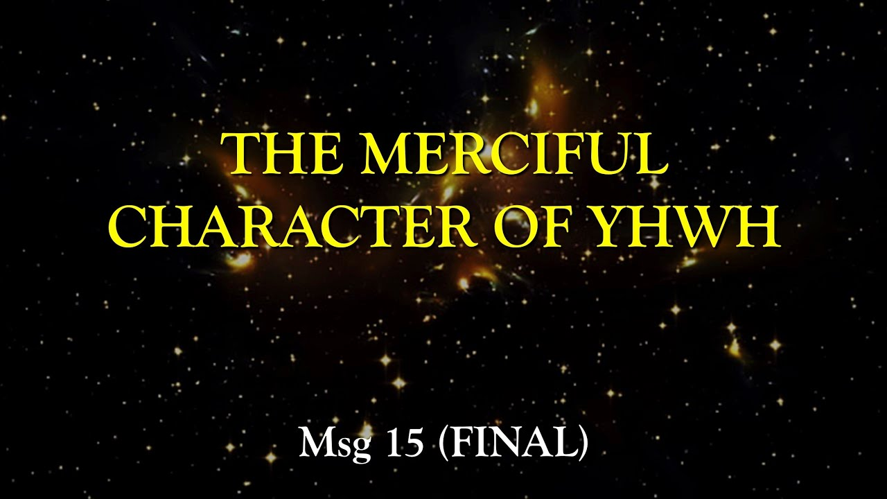 Micah: The Merciful Character Of YHWH