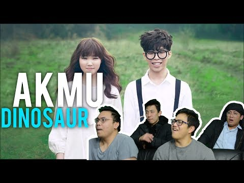 "Chasing a ""DINOSAUR"" with AKMU (MV Reaction)"