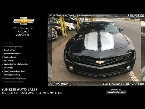 Used 2011 Chevrolet Camaro | Sunrise Auto Sales, Rosedale, NY