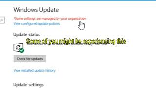 Windows 10 Update \