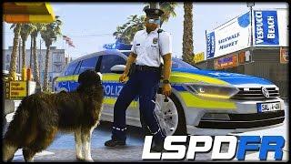 GTA 5 LSPD:FR #197 | K9 Husky City Polizei  - Deutsch - Grand Theft Auto 5 LSPDFR