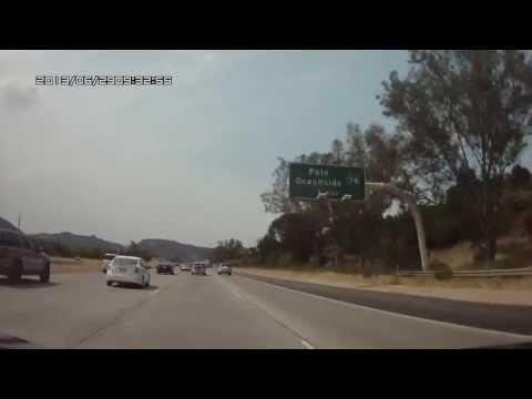 DashCam Temecula to El Puerto Taco Shop in Spring Valley, CA in 4 minutes 35 Seconds