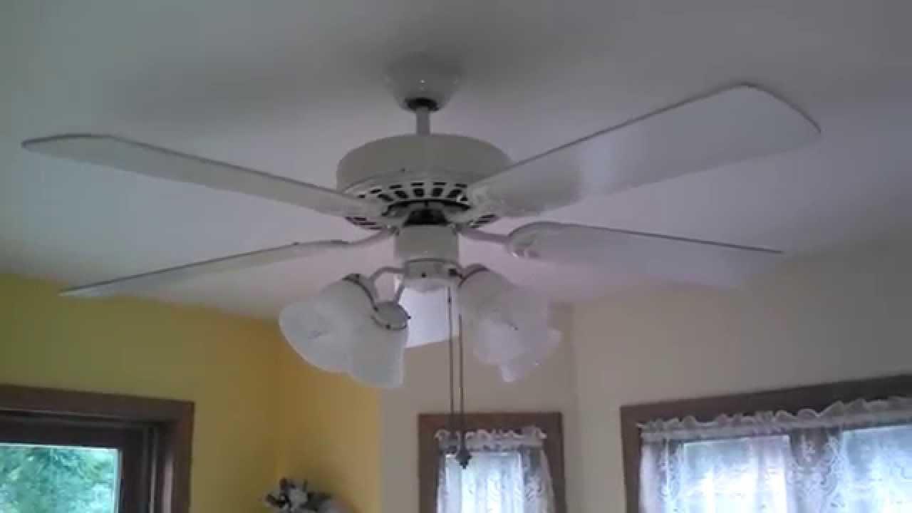 Minka Aire Ceiling Fan In My Auntu0027s Kitchen   YouTube