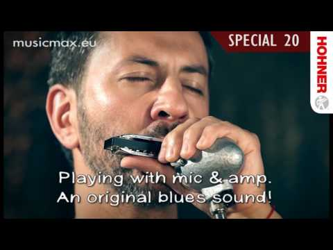 Harmonica Hohner Special 20 | Sound demonstration