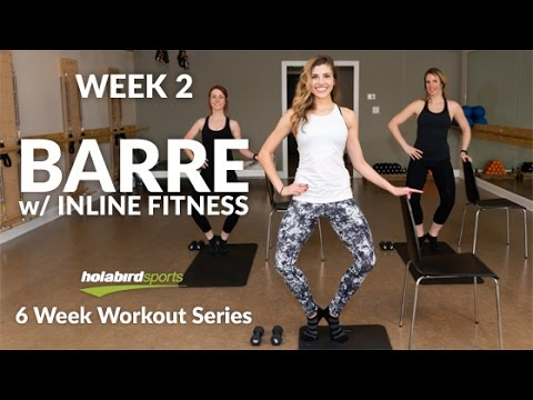 Calorie Blasting Barre Workout You Can Do AT HOME