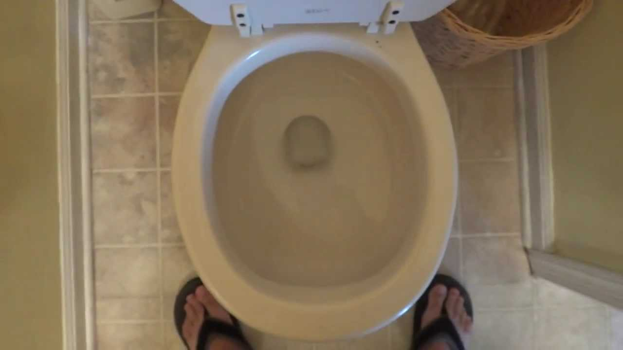 Bathroom tour briggs toilet at a cottage youtube for Commodes bathroom tour