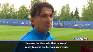 Croatia coach defiant after sending Kalinic home from Russia