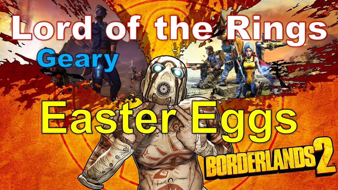 Borderlands 2 Lord of the Ring Geary - Easter Egg #10 on
