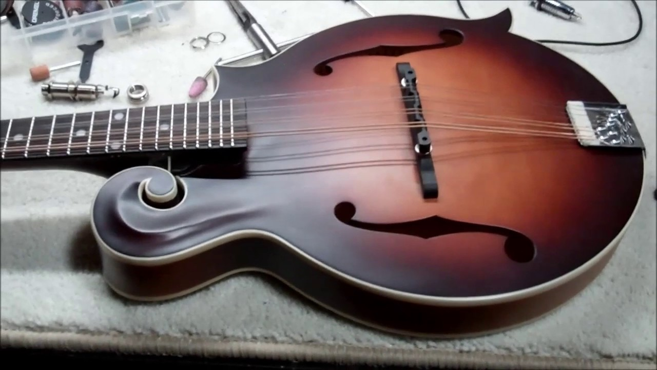 Acoustic Electric Jack Wiring Explained Diagrams Mandolin Pickup Endpin Install Part 1 The Loar Lm 310