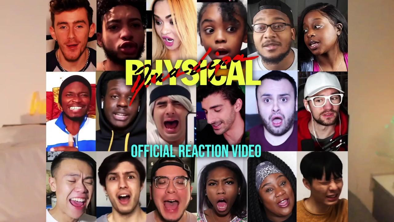 Dua Lipa — Physical [Reactions]