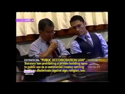 Attorney General David Louie on Same Sex Marriage