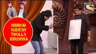 Mirror Sudesh Shows Krushna's Horrible Face - Jodi Kamaal Ki