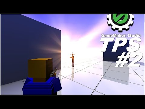 GM:S Tutorial – 3D Third Person Shooter #2 – Shooting Enemies