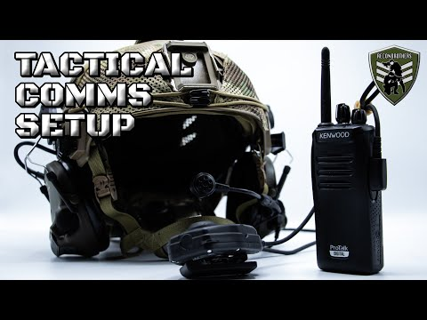 Reconbrothers Tactical Comms Setup for Milsim & Airsoft