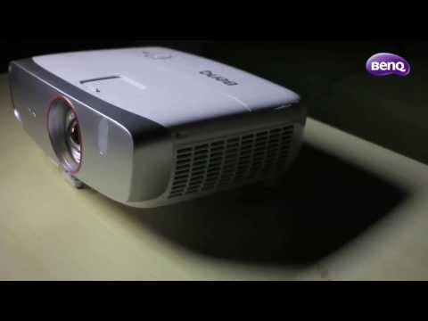 BenQ W1210ST 1080p Home Projector Shoot Out Video