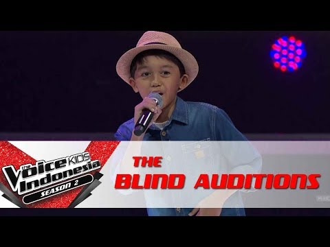 Ikhlas 'I Want You Back' | The Blind Auditions | The Voice Kids Indonesia Season 2 GTV 2017