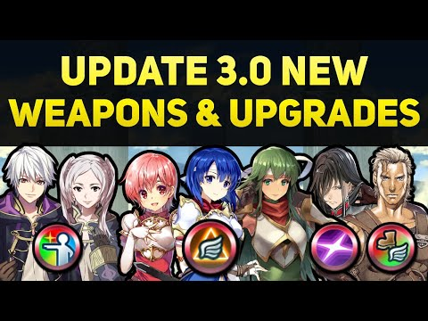 Whitewings, Robins, Ogma, & Navarre New Weapons & Refines (Update 3.0) | Fire Emblem Heroes Guide