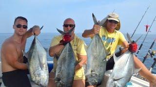 Рыбалка на Пхукете - отличный отдых в Андаманском море(Очередное видео от нашей команды Phuket Fishing Pro. Долго искать GT не пришлось, нашли крупную стаю, при каждом заход..., 2015-10-14T12:08:21.000Z)