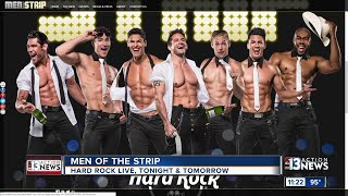 Jeff Timmons talks Men of the Strip show at Hard Rock Live