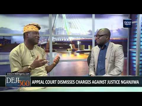 DEJI360 EP 186 Part 2: Nigerian Lawyer condemns Court judgement seeking to protect corrupt Judges