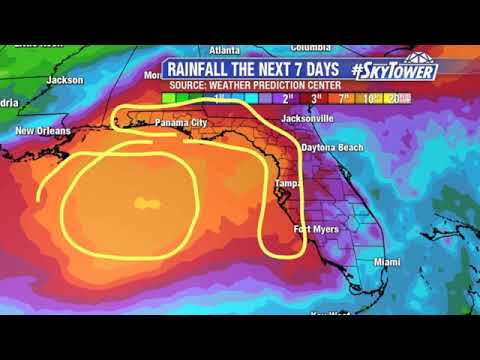 Today's tropical weather update 7/8/2019