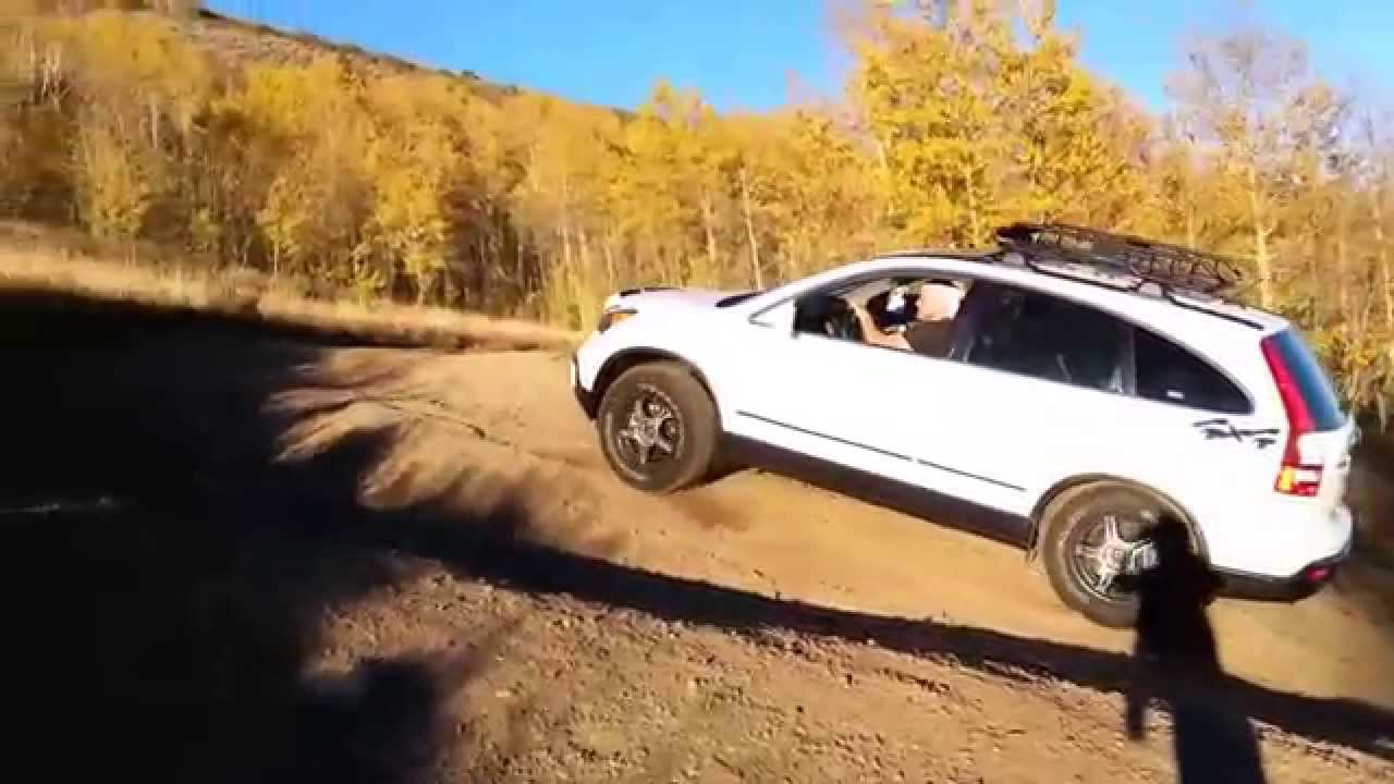 CRV 4WD Off-road, Wasatch Mountains Oct 2014 - YouTube