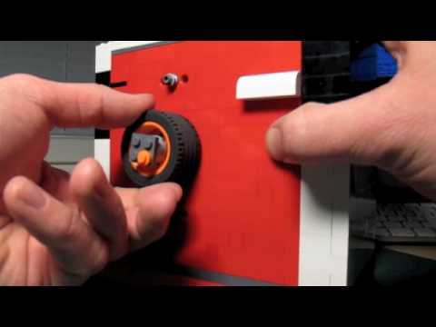 Lego Safe Combination Lock 3 Numbers Youtube