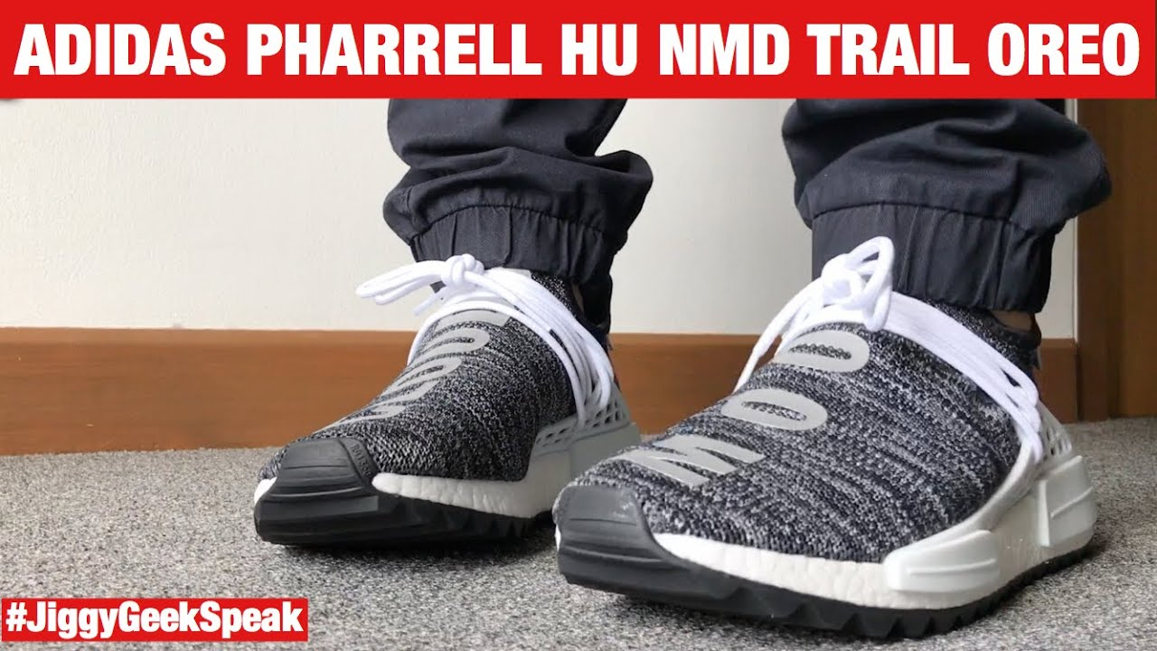 7a2255908449a PHARRELL HU NMD TRAIL OREO REVIEW   ON FEET