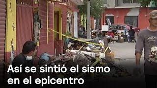 Testimonios del sismo desde el epicentro en Axochiapan - Despierta con Loret