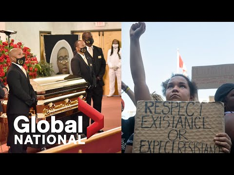 Global National: June 6, 2020 | Memorial held near George Floyd's birthplace as protests continue