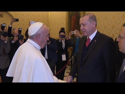 President of Turkey in Vatican to speak about Jerusalem following Trump's statements
