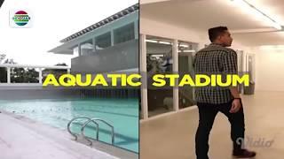 Wajah Baru Venue Aquatic Stadium   Gempita Asian Games 2018