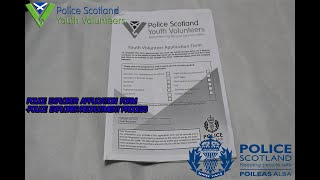 Police Explorer Application Form - Police Explorer Recruitment Process