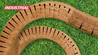 Saw Blade Project: Bending Wood By Cutting Kerfs | ToolsToday